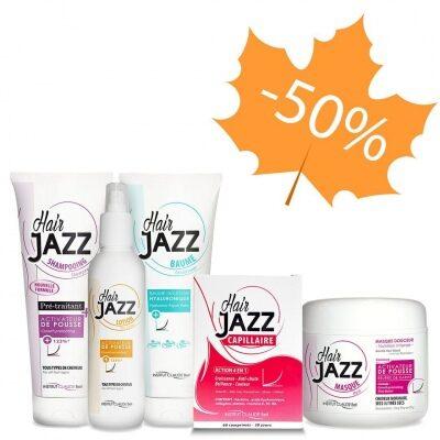 HAIR JAZZ Shampoo, Balsam, Lotion, Maske og Vitaminer