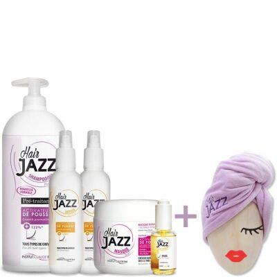 HAIR JAZZ Shampoo, Lotion, Maske og serum
